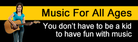 Music for all ages - you don't have to be a kid to have fun with music